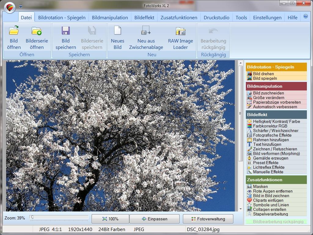Fotobearbeitungsprogramm für Windows